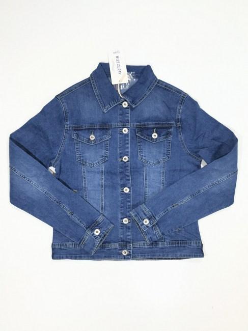 778e26cf841a660 Джинсовые куртки, жилеты и рубашки женские оптом
